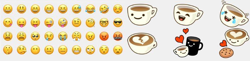 A diferença entre figurinhas para whatsapp e emojis
